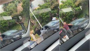 شاهدوا.. هجوم مسلح على سائق سيارة شمال المغرب