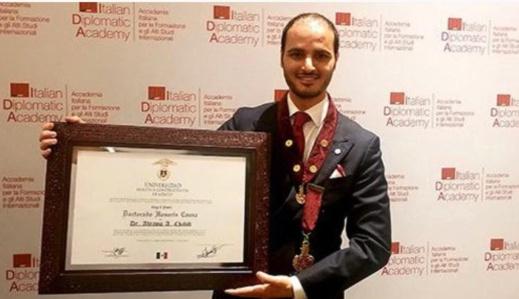 عبد الرحمان شيب.. مغربي يحصل على وسام الاستحقاق في ايطاليا