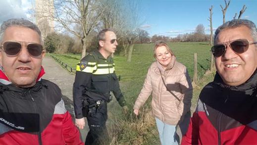 مؤسسة بهولندا تطلق برنامج جولة وحوار وتستضيف محافظ قانون اوتريخت