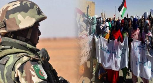 حالة استنفار في مخيمات تندوف بعد إطلاق الجيش الجزائري النار على الساكنة ومقتل شخصين