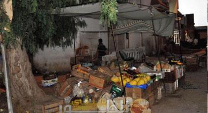 """باشا مدينة زايو يشرف على عملية إخلاء شارع  """"أُحُد"""" من الباعة المتجولين"""