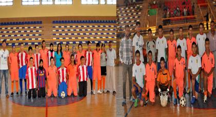 فريق الشباب الرياضي البركاني لكرة القدم فتيات وفتيان في ضيافة فريق الأشبال الرياضي بزايو