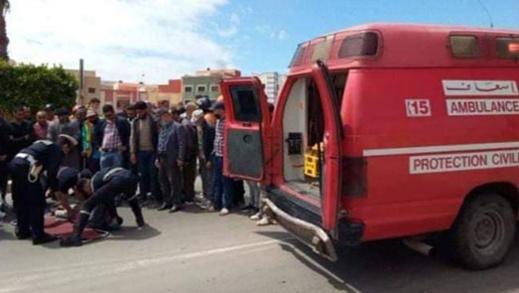 مصرع سائق دراجة نارية إثر حادثة سير مروعة بأزغنغان