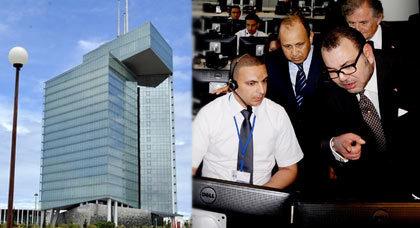 الملك محمد السادس يدشن برج اتصالات المغرب العملاق