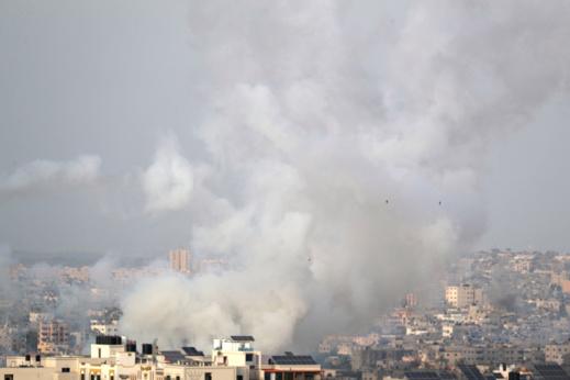 صواريخ حماس تقصف القدس ردا على مجازر الاحتلال