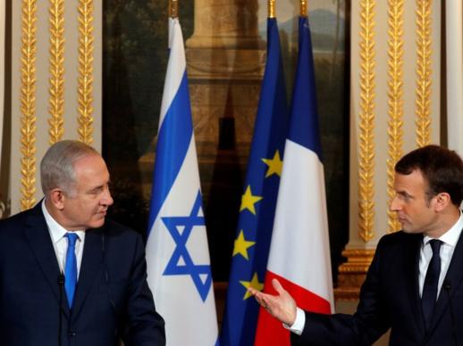 فرنسا تدين إطلاق صواريخ حماس وتغمض العين عن جرائم إسرائيل
