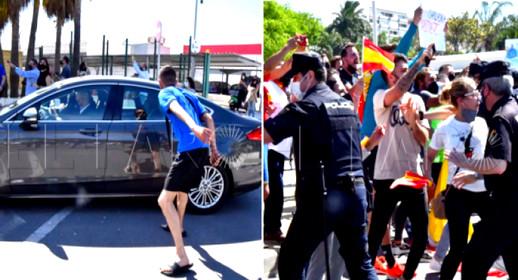 بعد موجة النزوح الجماعي.. هكذا استقبل سكان سبتة المحتلة رئيس الحكومة الإسبانية