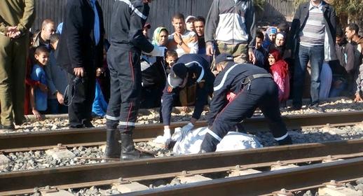 قطار يُصرع قاصراً ويحول جثته إلى أشلاء
