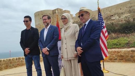 ممثل السفارة الأمريكية بالرباط يقوم بزيارة رسمية لمدينة الحسيمة