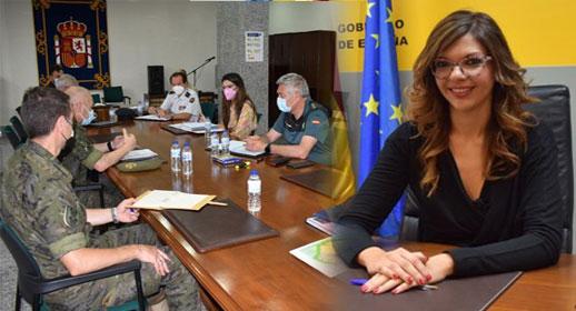 مندوبة الحكومة الاسبانية بمليلية الريفية صابرينا موح تطالب بتنزيل أقصى العقوبات على مقتحمي السياج