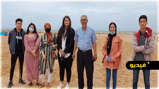 نادي الصحافة بثانوية حمان الفطواكي يسلط الضوء على حامات مولاي علي الطبيعية بجماعة أولاد ستوت