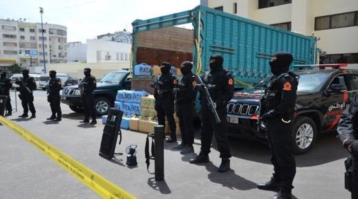 الأمن  يوجه ضربة جديدة لمافيات الاتجار الدولي بالمخدرات