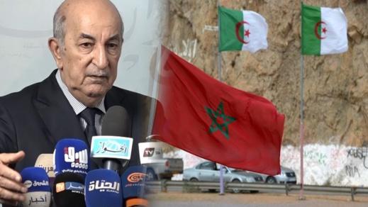 تبون: المغرب غير قادر على الحرب لضعف قوته.. ولن نفتح الحدود معه