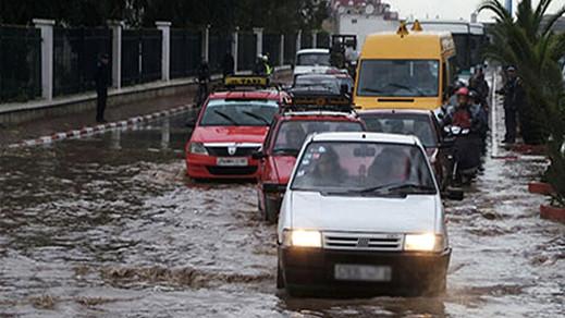 استمرار الاضطرابات الجوية بالشمال والريف خلال اليوم