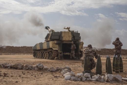 بتعليمات ملكية مناورات الأسد الإفريقي تنظم بمدن الصحراء المغربية