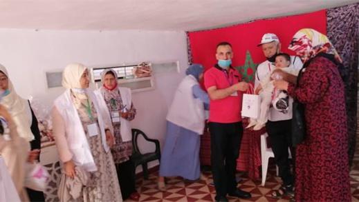 عملية اعذار جماعية لـ 84 طفلا في تاوريرت بوستة بسلوان