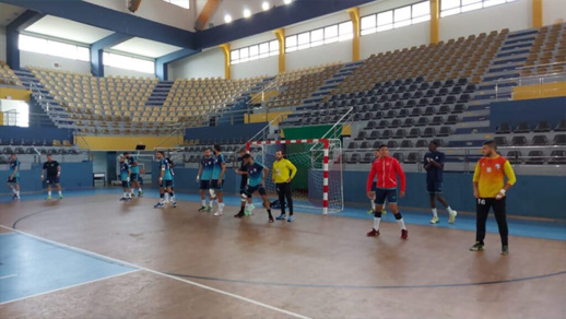 هلال الناظور لكرة اليد يضمن رسميا مكانا له في البلاي أوف مع كبار اللعبة