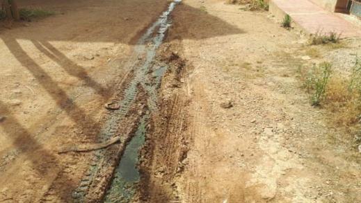 كارثة بيئية تهدد ساكنة دوار الحرشة ببوعرك بسبب مياه الواد الحار