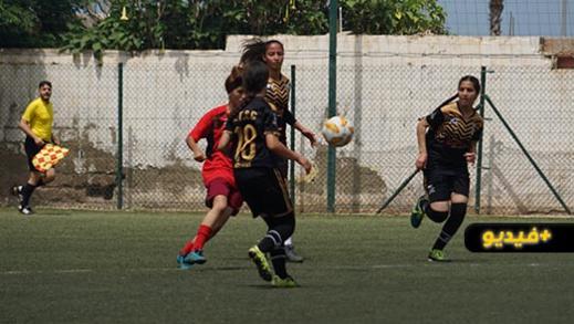 إناث هلال الناظور لكرة القدم ينتصرن على الفريق الوجدي ويتأهلن لمباريات السد