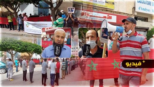 تجار سوق الجوطية بأولاد بوطيب يحتجون ضد إقصاءهم من الحصول على رخصة استيراد السلع