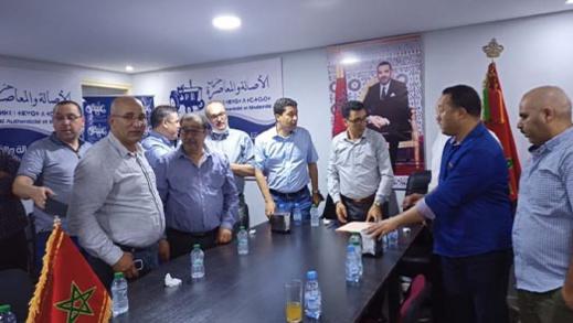 الأمين الإقليمي للبام أحمد المحمودي يستقبل القيادات الوطنية للحزب ويفتتح مقر العروي