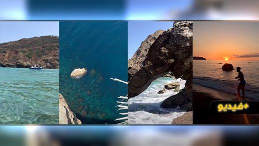 شاهدوا.. يوتوبر ناظوري يرصد 22 شاطئ بالريف ويدعوا أفراد الجالية لزيارتها والاستجمام بها