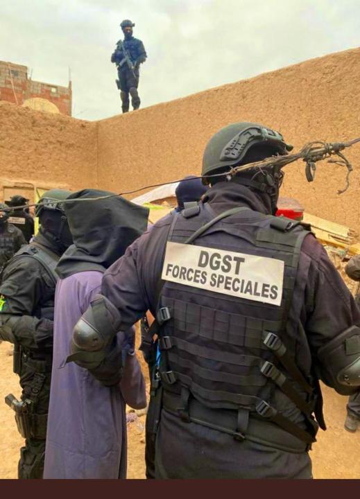 تفكيك خلية إرهابية موالية لتنظيم الدولة الإسلامية تروم إستهداف مقرات أمنية ومشاريع