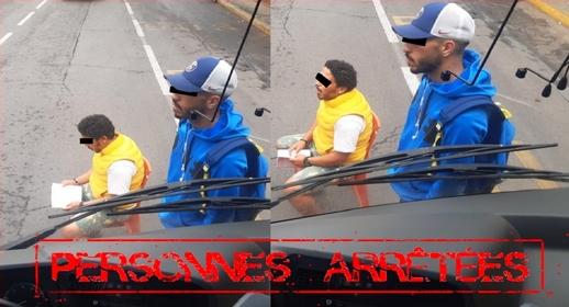 بعد واقعة الترامواي.. اعتقال شخصين ظهرا في شريط فيديو يعرقلان حافلة للنقل الحضري