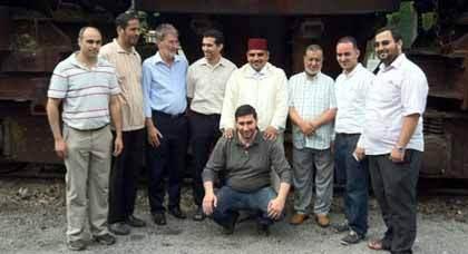 مجموعة من أساتذة ووعاظ مغاربة في جولة ودراسة ميدانية بمدينة دويسبورغ الألمانية