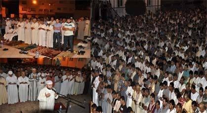 ساكنة الناظور تحيي ليلة القدر في جوّ رمضاني روحي في مختلف مساجد المدينة