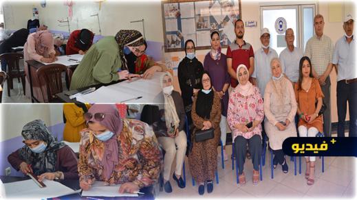 نساء ناظوريات يستفدن من دورة تكوينية في حرفة الخياطة من تنظيم جمعية إصوراف