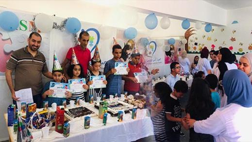 جمعية ايمن للتوحد بالناظور تحتفل بنجاح تلاميذها المدمجين بالمدارس العمومية