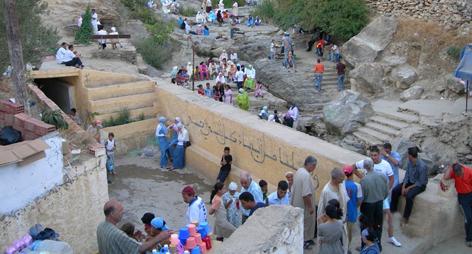 الشروع في استغلال قناة الجر الجديدة لتزويد مدينة أكنول والجماعات المجاورة بالماء الشروب