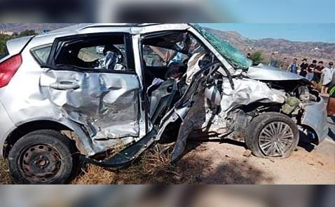 الدريوش.. مصرع سيدة في حادثة سير مروعة وإصابة خمسة أشخاص آخرين بين اتروكوت والحسيمة