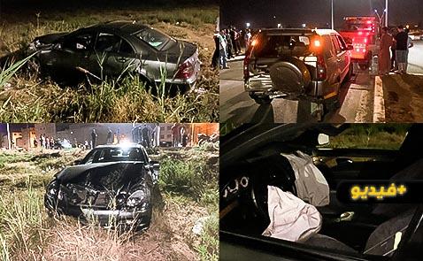 خلفت إصابة شخصين.. التهور والسرعة عنوان حادثة سير وسط حي بوعرورو بالناظور