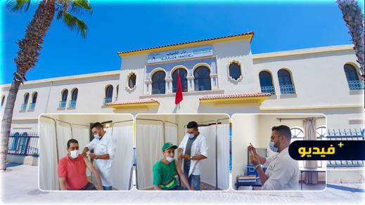 افتتاح مركز جديد للتطعيم ضد فيروس كورونا وسط مدينة الناظور
