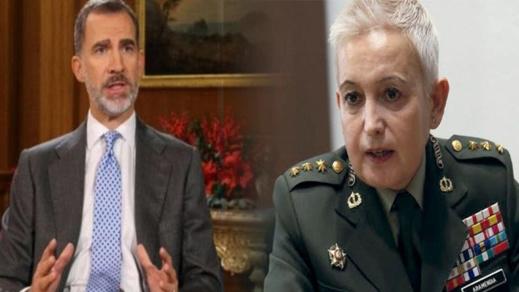 مرسوم ملكي يمنح  إسبانية من أصل مغربي رتبة جنرال بالجيش الإسباني