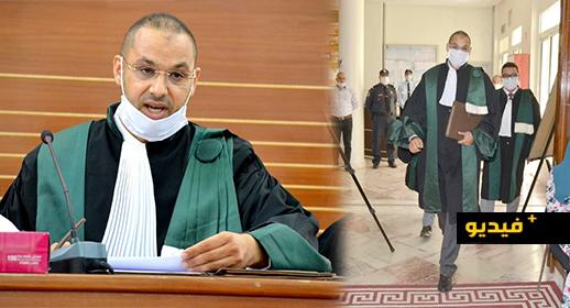 شاهدوا.. تنصيب سليل جماعة بن الطيب الدكتور كمال اسليماني على رأس المحكمة الابتدائية بتارجسيت