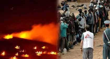 لعنة حريق غابة كوروكو  تصفّي المهاجرين الأفارقة السريين من شوارع مدينة الناظور
