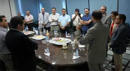 عامل الناظور يستقبل أعضاء الجمعية الإقليمية للمهرجان المتوسطي