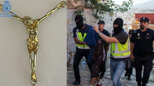 توقيف مغربي بمليلية سرق قطعة ذهبية ثمينة وأهداها لصديقته الاسبانية