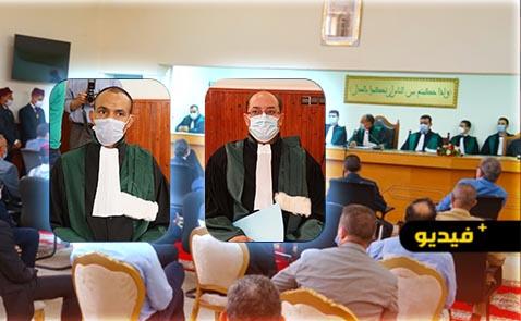 حفل تنصيب الرئيس أحمد ميدة و وكيل الملك حميد رحاوي بالمحكمة الابتدائية بالناظور