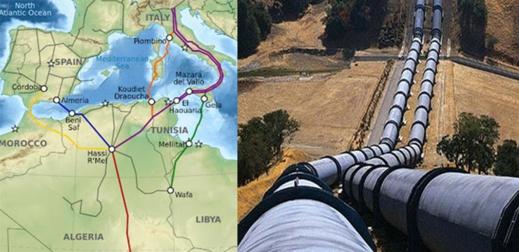 هذا مصير عقد مرور خط أنبوب الغاز الجزائري لإسبانيا عبر المغرب