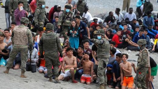 مفوضية اللاجئين تدعو إسبانيا لعدم ترحيل القاصرين المغاربة