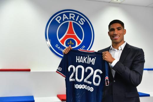 فريق باريس سان جيرمان يضع حكيمي في موقف محرج مع المغاربة