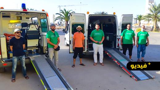 ثويزا توزع سيارات الإسعاف على الجمعيات من أجل تسهيل تنقل المرضى إلى المؤسسات الاستشفائية
