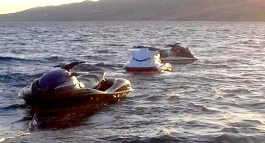 """أبحرا من الحسيمة نحو إسبانيا على متن """"جيتسكي"""".. اختفاء شابين منذ 4 أيام وسط مخاوف من غرقهم"""