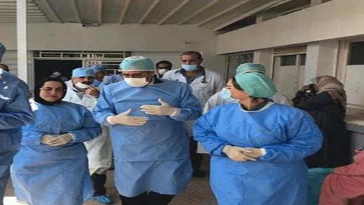 عامل الناظور علي خليل يتدخل لتقديم العلاجات الضرورية للمصابين بفيروس كورونا بدار العجزة
