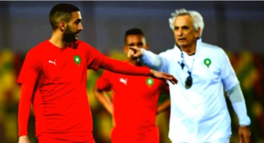 زياش يرد على تصريحات مدرب المنتخب الوطني حول استبعاده من قائمة لاعبي المنتخب