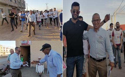ميلود عزوز يقود حملة انتخابية حاشدة بسلوان لدعم مرشحي حزب الاتحاد الاشتراكي